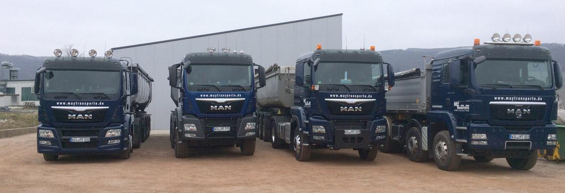 Fahrzeuge von Maytransporte